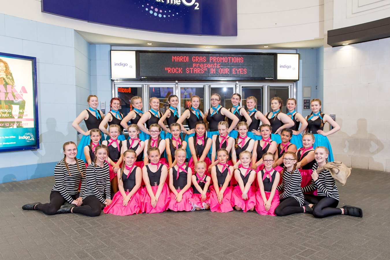 June 2017 - The CJs Performers - At the O2